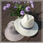 麦わら帽子 メンズ 中折れ帽子 日よけ帽子 ビーチハット リゾートファッション