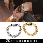 ブレスレッド メンズ 腕輪 喜平 ブリンブリン hiphop b系 ヒップホップ ジュエリー ゴールド 18金 コーティング THE GOLD GODS 父の日