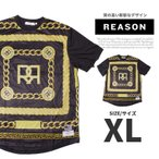 Reason Clothing リーズン Tシャツ 半袖 メッシュ RE15-36710 ストリート系 大きいサイズ B系 ファッション