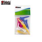 【即納】タバタ GV-0479 プラスリムショートティー 12本入り(40mm) [TABATA] 【ラウンド用品】【ゴルフ小