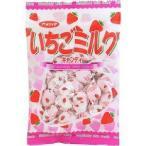 ネコポス 送料無料  ★アメハマ製菓 いちごミルクキャンディ 95g 3個★ ポイント 消化【訳あり】
