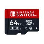 ネコポス送料無料 在庫あり 新品 Nintendo Switch対応 マイクロSDカード64GB for Nintendo Switch ニンテンドー スイッチ