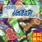 ネコポス発送 送料無料 森永製菓 一口サイズのミニハイチュウ 5個 アソート 300円