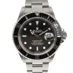 B楽市本店 本物 ROLEX ロレックス サブマリーナデイト メンズ オートマ 腕時計 16610 P番