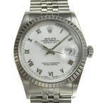 B楽市本店 本物 ROLEX ロレックス デイトジャスト メンズ オートマ 腕時計 16030 R番台