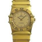 03楽市 本物 OMEGA オメガ コンステレーション レディース クォーツ 腕時計
