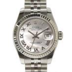 B楽市本店 本物 ROLEX ロレックス デイトジャスト レディース オートマ 腕時計 シェル文字盤 179174NR ランダム
