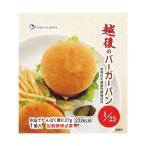 低たんぱくパン バイオテックジャパン 越後のバーガーパン 80g×20袋