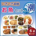 冷凍/低たんぱく ヘルシーフード いきいき御膳 お魚セット 潮(6個入)