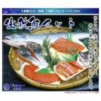 【送料無料】生秋鮭セット 北海道産天然秋鮭「銀聖」+イクラがセットでお得ですっ!
