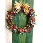 ドライフラワー ナチュラルリース1 30cm dried flower Wreath