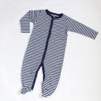 ベビー服 スリーパー カバーオール 赤ちゃん ボーダー柄 海外子供服 パジャマ 新生児