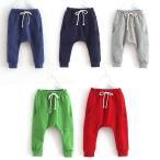 【Sale】ベビーキッズ スウェットパンツ カラー ハーレムパンツ風 パジャマ 韓国子供服