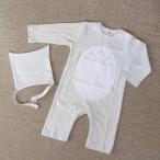 ベビー服 ロンパース 長袖 パジャマ 赤ちゃん ハロウィン 衣装 ライトグレー (帽子おまけ)
