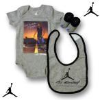 JORDAN BRAND MJ MONDAY ロンパース3点セット AIR JORDAN エアジョーダン 出産祝い ギフト ベビージョーダン ベビー服