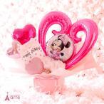 バルーン 電報 結婚式 ディズニー ミニー 誕生日 発表会 出産祝い 結婚祝い プレゼント ・ミニー ピンク バルーン・