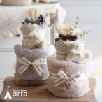 出産祝い おむつケーキ mudpie ベビーソックス付 女の子・マッドパイ 選べるソックス オムツケーキ・