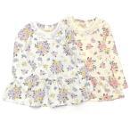 【4/21 14時 販売終了】Biquette Club (ビケットクラブ ) Tシャツ(長袖) (80〜130cm)  女の子 キムラタン 子供服 綿100% あすつく