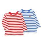 ベビー アウトレット セール 男の子 キムラタン Piccolo ピッコロ 70 80 90 長袖Tシャツ