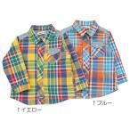 6/30 販売終了予定 子供服 セール キムラタン Bobson ボブソン 長袖シャツ 80 90 95 100 110 120 130 春物