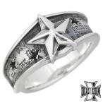 DEAL DESIGN ディールデザイン シルバー リング 指輪 メンズ レディース Nスタークラック 7号〜23号