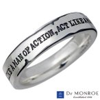 Dr MONROE ドクターモンロー シルバー リング メンズ 指輪