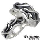 M's collection エムズコレクション-ミニッツライン シルバー リング 指輪 P