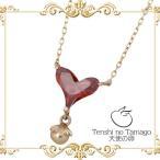 天使の卵 Tenshi no Tamago K10 ピンクゴールド ネックレス ハート