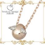 天使の卵 Tenshi no Tamago K10 ピンク & ホワイトゴールド ネックレス
