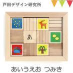 戸田デザイン研究室 あいうえおつみき |かな積み木