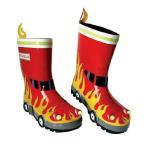 ベビーデポ提供 <small>ベビー・マタニティ・ゲーム</small>通販専門店ランキング7位 Kidorable Rainboots Fireman キドラブル レインブーツ 消防士