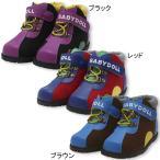 ブーツ スニーカー カラフルワークブーツ マジックテープ SALE -靴 シューズ ベビー キッズ 子供 ベビードール BABYDOLL-4519