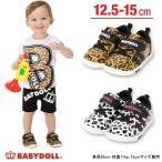 子供服 アニマル柄ベビースニーカー 楽々マジックテープ SALE-雑貨 靴 ベビードール BABYDOLL-6404