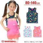 子供服 ヤシの木 サーフボード総柄タンクトップ アウトレットSALE-ベビー キッズ ベビードール BABYDOLL-7900K