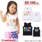 子供服 カラフルロゴタンクトップ SALE-ベビー キッズ ベビードール BABYDOLL-8077K