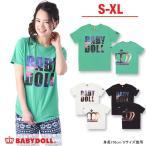 子供服 親子ペア SUNSETロゴTシャツ SALE-大人 男女兼用 レディース メンズ ベビードール BABYDOLL-9282A(XL通販限定)
