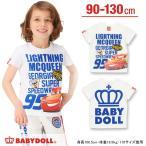 子供服 ディズニー_袖ネームTシャツ SALE-ベビー キッズ ベビードール BABYDOLL/DISNEY-9343K