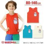 子供服 ポケットタンクトップ SALE-ベビー キッズ ベビードール BABYDOLL-9519K