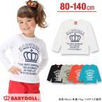 子供服 メッセージロンT SALE-ベビー キッズ ベビードール BABYDOLL-9551K