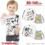 ディズニー ラブラブロンT SALE-ベビー キッズ 子供服 ベビードール BABYDOLL/DISNEY-9761K