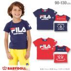 30%OFF SALE ベビードール BABYDOLL 子供服 ドラえもん FILA バックキャラ Tシャツ 男の子 女の子 ベビーサイズ キッズ-1205K