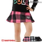 50%OFF SALE ベビードール BABYDOLL 子供服 ワッペン ロゴ スカート 1886K 男の子 女の子 (通販限定サイズ/カラーあり)