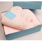 【あすつく】【出産祝い】ふわサラタオルとまくらのギフト(出産祝い・誕生日・赤ちゃん・ベビー・ベビー服)