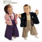 ベビー子供服洋服 和服 はかま風ロンパース着物 お