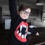 子供服 くちびるトレーナー トップス デザイナーズ/ヨーロッパ直輸入 北欧系 店内商品2点以上お買い上げで送料無料