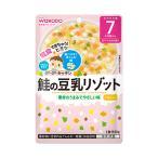 和光堂 グーグーキッチン IE306鮭の豆乳リゾット  7か月頃からの離乳食  赤ちゃん・ベビーフード・レトルトパウチ