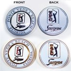 ゴルフ グリーンマーカー ラウンド用品 デュオマーカー ソーグラス  TPC(公式ロゴ入り)SAWGRASS ネコポス限定送料無料