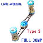 【在庫限り20%OFF】LIVRE/リブレ AVENTURA/アヴェントゥーラ FULL COMP Type3 ダイワ/Abu用