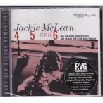 Jackie McLean ジャッキー・マクリーン/4, 5 & 6(CD)