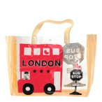 ショッピングプールバッグ 女の子 プールバッグ ニコフラート nico hrat ビーチバッグ 女の子 男の子 キッズ 通販 子供 ロンドンバス おけいこバッグ スイムバッグ スパバッグ